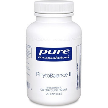 Pure Encapsulations - PhytoBalance II - Supports Healthy Estrogen and Progesterone Activity & Reduces Hot Flashes* - 120 Capsules