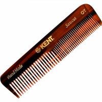 Kent Hand-made 113mm Coarse/fine Pocket Comb - Ot 3 Pack