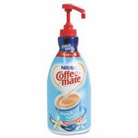 Coffee-mate - Liquid Coffee Creamer, French Vanilla, 1500mL Pump Bottle 31803 (DMi EA