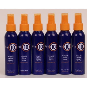 It's a 10 - Miracle Shine Spray 4oz Lot of 6