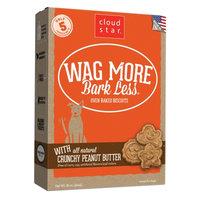 Cloud Star Wag More Bark Less Oven Baked Crunchy Peanut Butter Dog Treats