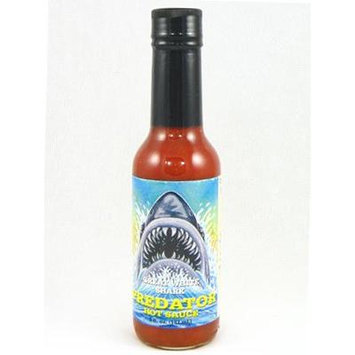 Great White Shark Predator Hot Sauce 5oz (Pack of 3)
