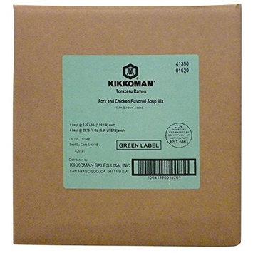 Kikkoman 2.2 LB Tonkotsu Ramen Soup Mix (No MSG Added), For Food Service Use