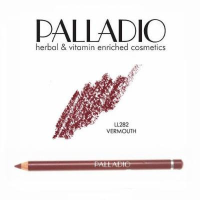 3 Pack Palladio Lip Liner Pencil 282 Vermouth