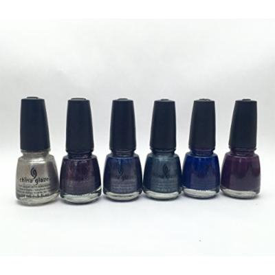 China Glaze Nail Lacquer ALL ABOARD Contains 6 lacquers