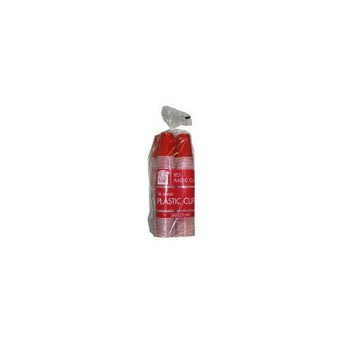 Bakers & Chefs Red Plastic Cups - 16oz - 280 ct