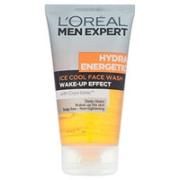 L'Oreal Men Expert Hydra Energetic Foaming Cleansing Gel 150ml (PACK OF 6)