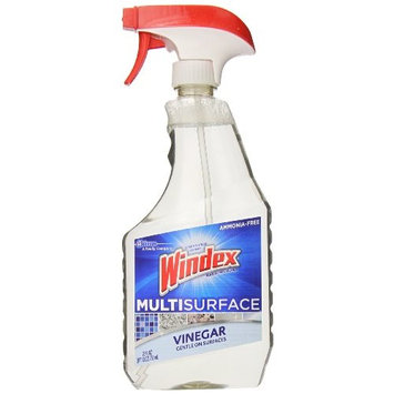 Windex Multi-Surface Cleaner, Vinegar, 26 oz (Pack Of 2)