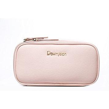 BEGIN MAGIC Makeup bag / Cosmetic Organize Bag / Multifunction Toiletry Organizer Bag for Travel & Home (Pink)