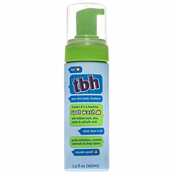 TBH Kids Spot Foam Face Wash - Daily Acne Face Wash - Gentle Natural Formula - Sulfate, Paraben Free- 5.5 oz [Spot Face Wash]