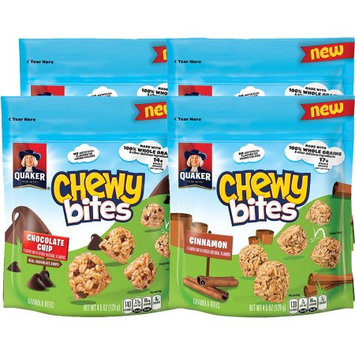 Quaker Foods And Distribution Inc. Quaker Chewy Bites 4ct Variety Pack