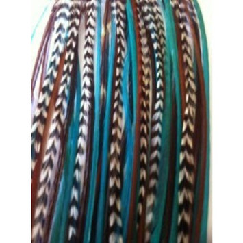 Turquoise & Brown 7
