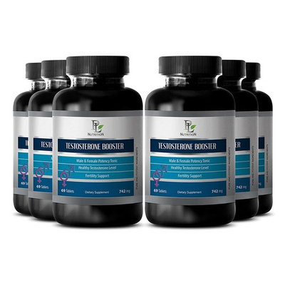 Muscle growth supplements - NATURAL TESTOSTERONE BOOSTER 742 Mg - Muscle growth men - 6 Bottles 414 tablets
