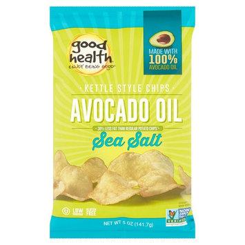 Good Health Sea Salt Avocado Oil Kettle Style Chips, 5 oz, 12 pack