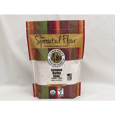 1 lb. Organic, Sprouted Barley Flour