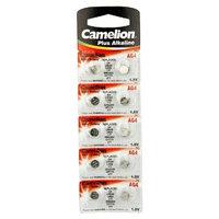 Camelion AG4 Button Cell Batteries, Alkaline Button Battery, 1.5V 10pcs Per Pack
