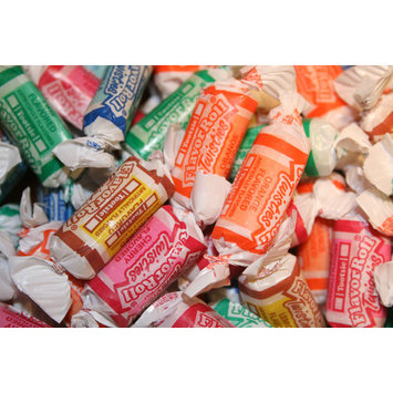 BAYSIDE CANDY TOOTSIE FRUIT ROLL, 1LB [assembled_product_weight: assembled_product_weight-1lbs]
