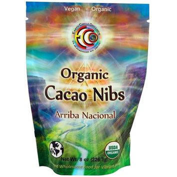 Earth Circle Organics, Organic Arriba Nacional Cacao Nibs, 8 oz (226.7 g)