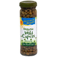 Mediterranean Organic Wild Capers, 3.5 oz, (Pack of 12)