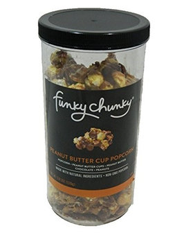 FunkyChunky Peanut Butter Cup Popcorn Tall Canister (1-20z)
