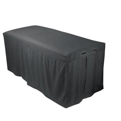 For Pro 310026 Forpro Premium Table Skirt, Cool Grey [Table Skirt]
