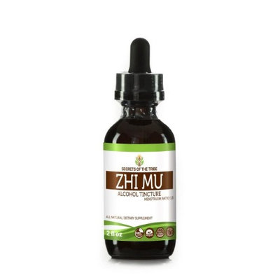 Secrets Of The Tribe Zhi Mu Tincture Alcohol Extract, Wildcrafted Anemarrhena, Zhi Mu (Anemarrhena Asphodeloides) Dried Root 2 oz