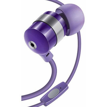 Accessory Power GOgroove AudiOHM BPM High Performance Noise-Isolating Earbuds Earphones-Purple - Stereo - Purple - Mini-phone - Wired - 32 Ohm - 20 Hz - 20 kHz - Gold Plated - Earbud - Binaural - In-ear - 4 ft Cable
