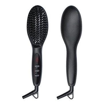 Hair Brush Digital Electric Hair Straightener Brush Comb Straightening Irons Hair Brush Styling Tool