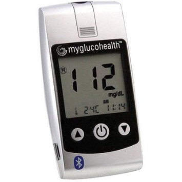 Entra Health Systems MyGlucoHealth Wireless Bluetooth/USB Blood Glucose Meter