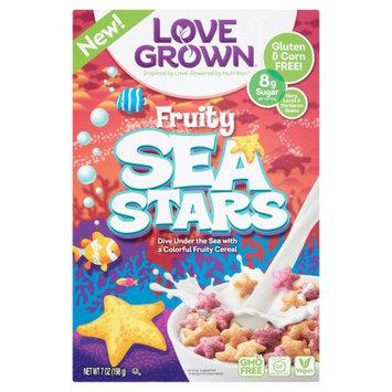 Love Grown Foods, Llc Love Grown, Cereal Sea Stars, 7 Oz (Pack Of 6)
