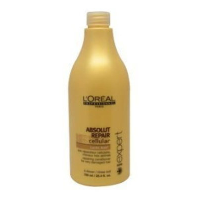 L'Oreal Professional Absolut Repair Cellular Lactic Acid Conditioner for Unisex, 25.4 Ounce [25.4 oz.]