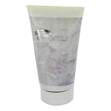 White Chantilly Bath & Shower Gel By Dana for Women 2 Oz / 60 Ml (Pack of 12)