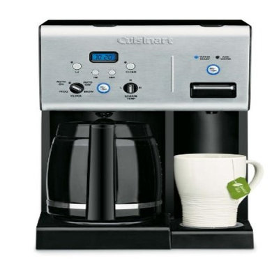 Cuisinart 2 In 1 Hot Beverage Center-BRUSHED STAINLESS/BLACK-One Size
