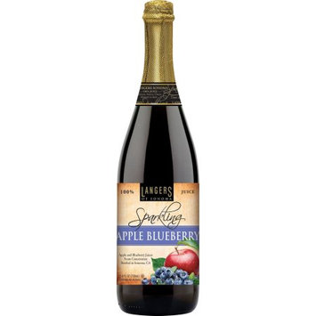 Langers Of Sonoma Langers Sparkling Juice Drink, Apple Blueberry, 25.4 Fl Oz
