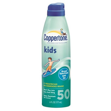 Coppertone Kids Sunscreen Continuous Spray, SPF 50 6.0 fl oz