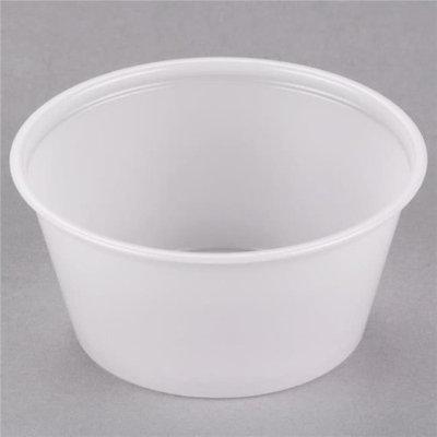 Dart P325N CPC 3.25 oz Souffle Plastic Translucent Cup Case of 2500