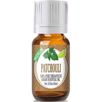 Healing Solutions Patchouli (Premium) 100% Pure, Best Therapeutic Grade Essential Oil - 10ml