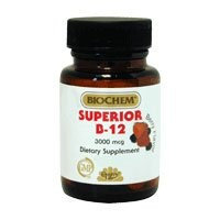 Superior B-12 100 Lozenges by Country Life