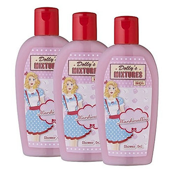 Dolly Mixtures Marshmallow Trio Pack of 3 Shower Gel