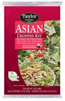 Taylor Farms Asian Chopped Salad Kit with Dressing