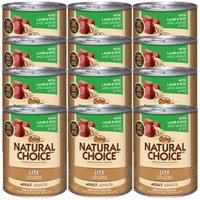Nutro Natural Choice Lite Lamb & Rice [Options : Adult Dog (12x12.5oz)]