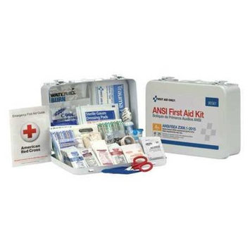 FIRST AID ONLY 90561 First Aid Kit,25 People,141 Comp. G4448355