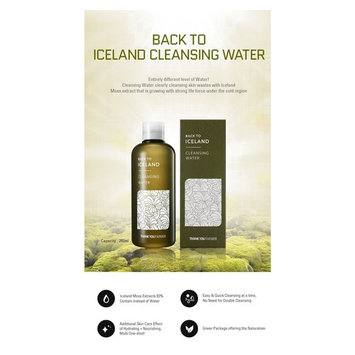 [ THANK YOU FARMER ] Back to Iceland Cleansing Water 260ml / 9.15 Fl. Oz. (30ml / 1.05 Fl. Oz.): Beauty