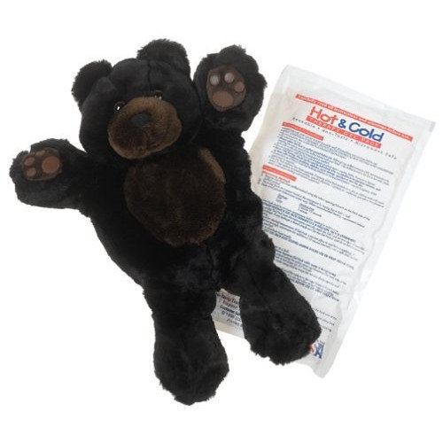 Gelly Belly Bear Hot/Cold Therapy Pack, Curly Bear