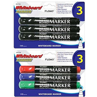 Flomo 3 Pack Whiteboard Markers(pack Of 48)