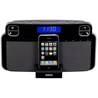 RCA RC180I App-Enhanced Docking Station for iPhone and iPod