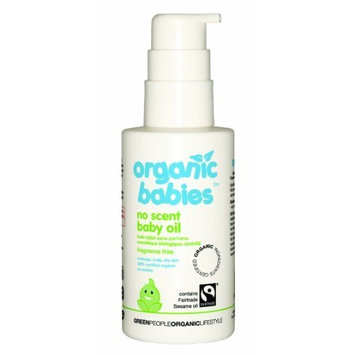 Organic Babies - Soothing Baby Oil - Fragrance/Scent Free - 100ml