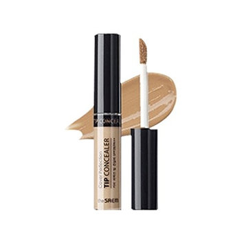 [the SAEM] Cover Perfection Tip Concealer SPF28 PA++ 6.5g (# Contour Beige) : Beauty