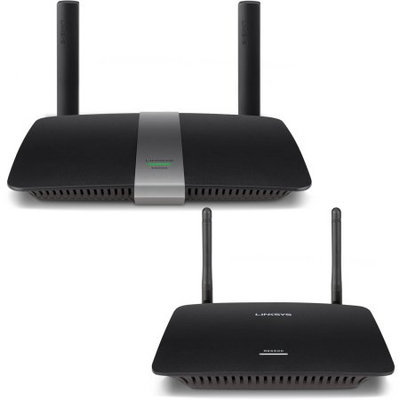 Linksys RE6500-RM AC1200 MAX Dual Band Wireless AC Range Extender 2.4 GHz and 5 GHz