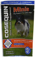 Nutramax Cosequin Mini Soft Chewable Tablets for Dogs 90ct (2 x 45ct)